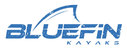 Bluefins Kayak Logo - Mosaic